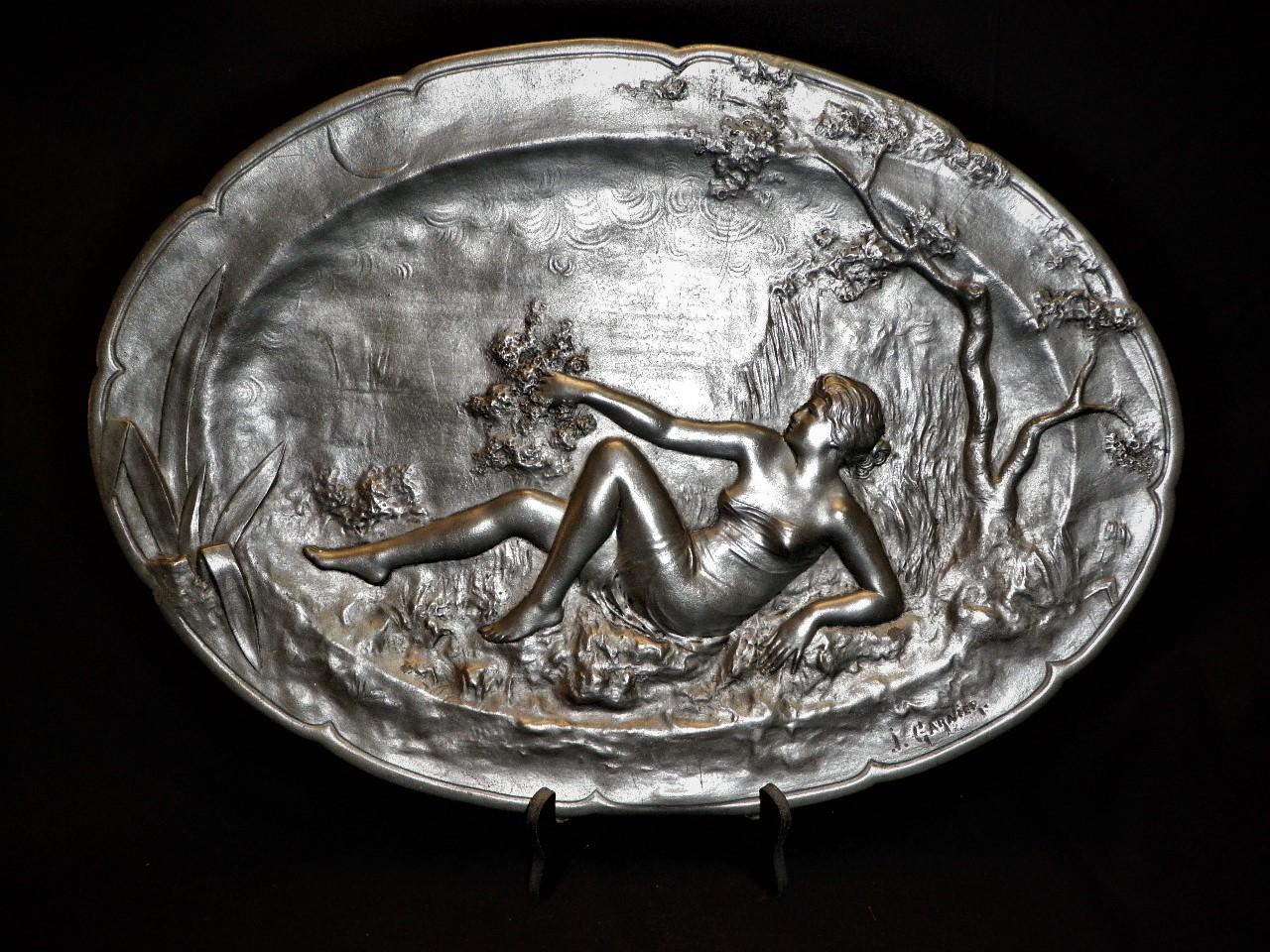 Schaal Art Nouveau (J. Garnier)