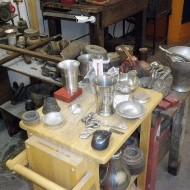 Tingieterij Holland, de werkplaats