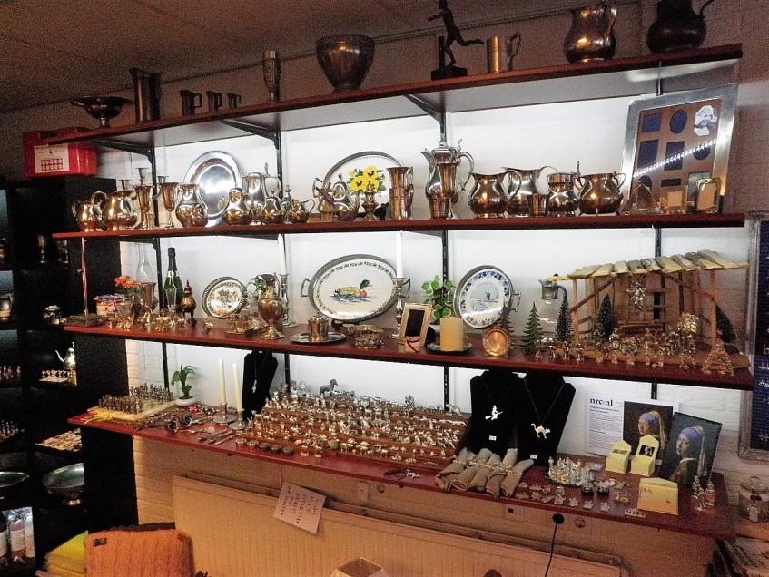 Tingieterij Holland, de winkel in Purmerend