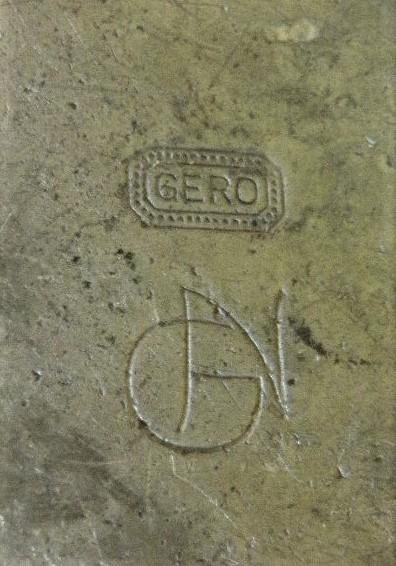 Merkteken karakteristiek theepotje Gero tin