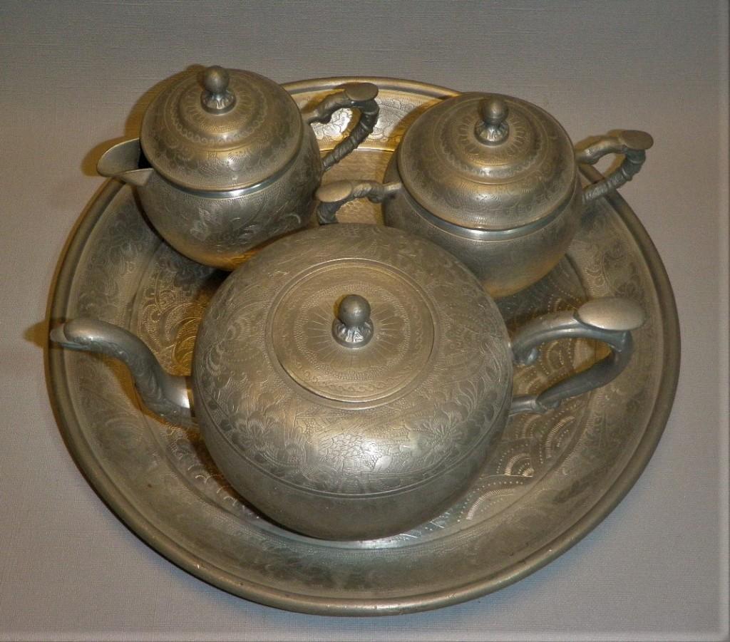 Antiek Chinees theeservies tin